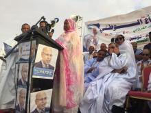 حملة غزواني تحشد الآلاف من جماهير نواكشوط الشمالية (صور)