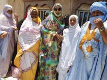 المهندسة مريم بنت بلال تواكب عملية التصويت بمقاطعة عرفات